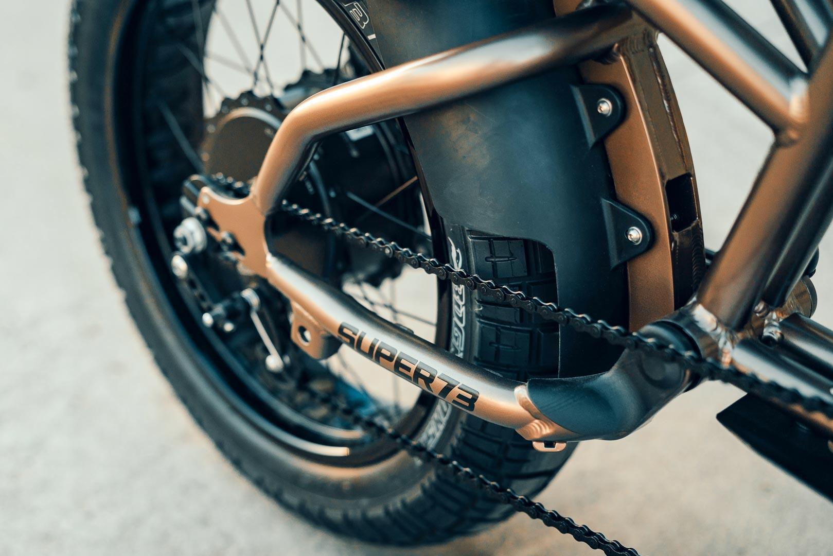 Super73 Flat Track RX: Chiếc xe đạp lai đầy táo bạo Ảnh 8