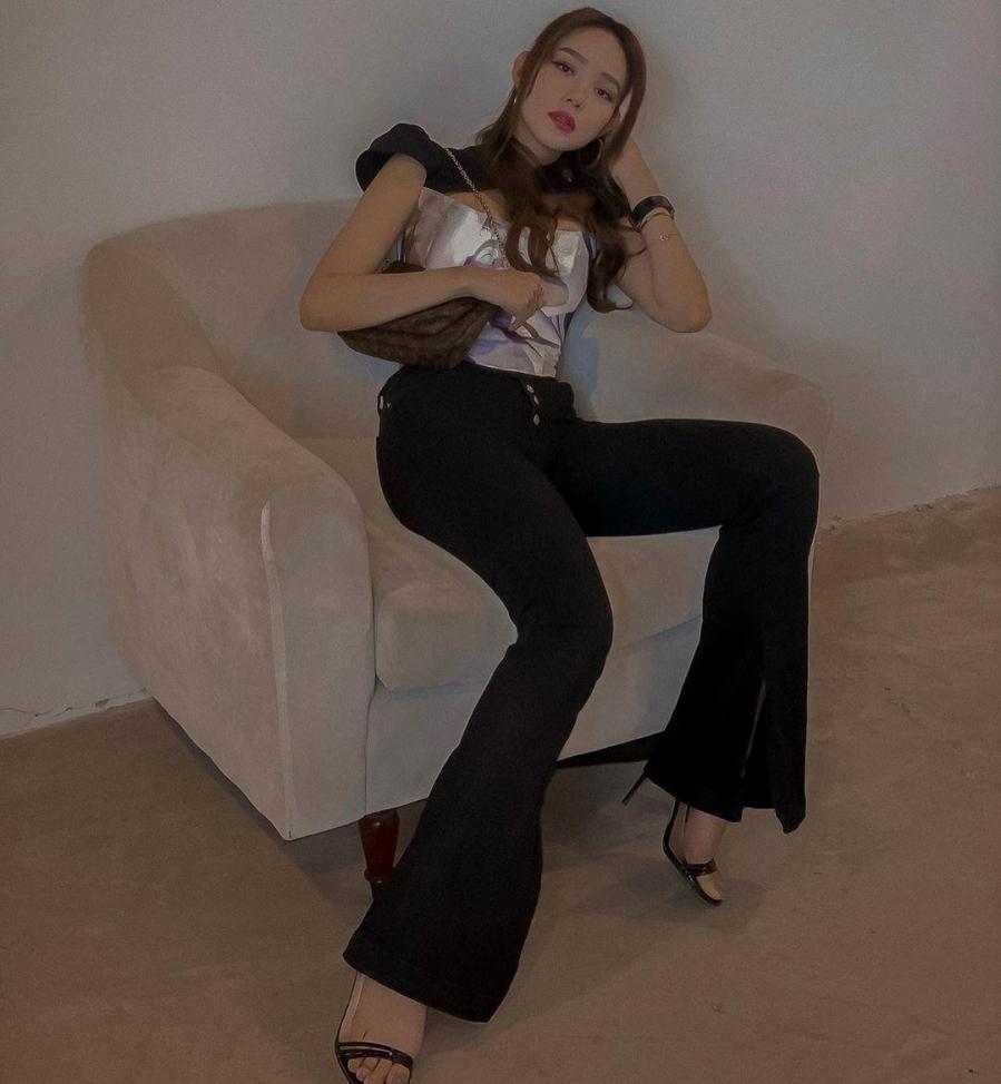 Mẫu thời trang giúp ca sĩ Minh Hằng 'hack' dáng thần sầu Ảnh 5