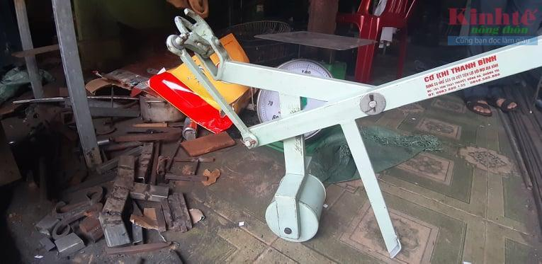 Quảng Trị: Thợ cơ khí tự mày mò sáng chế máy nhổ sắn Ảnh 1