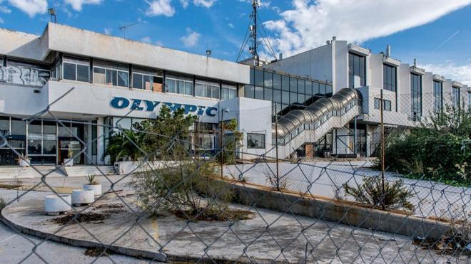 Cảnh đổ nát tại sân bay bị bỏ hoang ở châu Âu Ảnh 2
