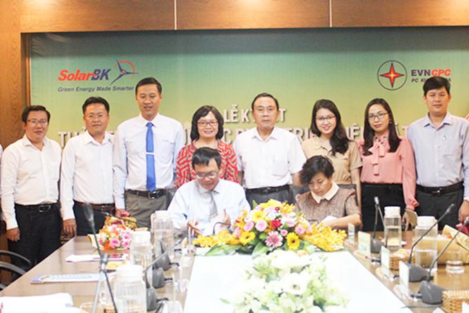 Công ty Cổ phần Điện lực Khánh Hòa: Hợp tác với SolarBK phát triển điện mặt trời Ảnh 1