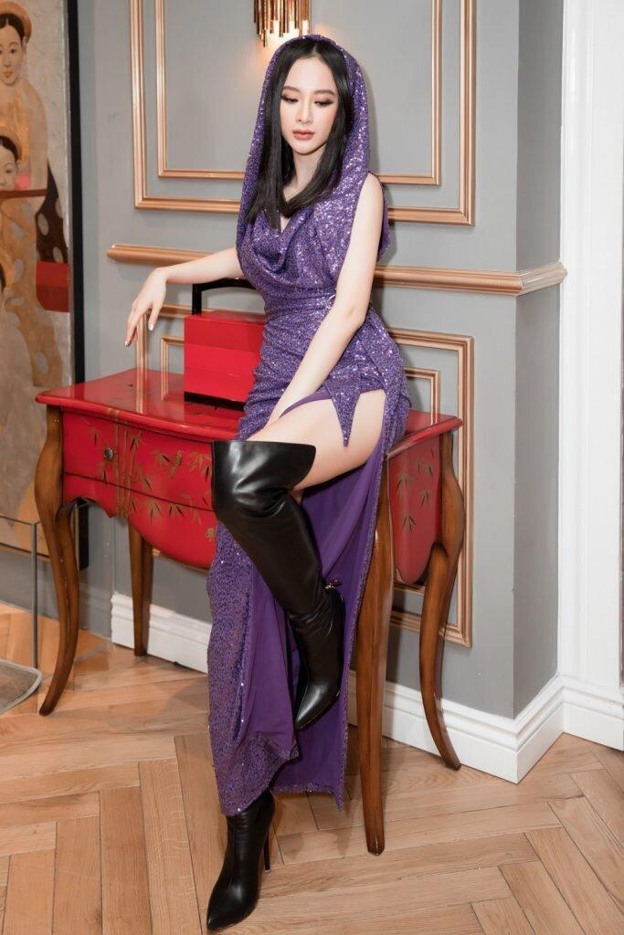 Ngọc Trinh, Chi Pu ai diện màu tím đều đẹp mãn nhãn, mỗi diễn viên này lại kém xinh Ảnh 8