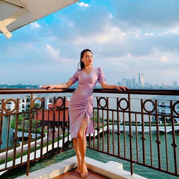 Ngọc Trinh, Chi Pu ai diện màu tím đều đẹp mãn nhãn, mỗi diễn viên này lại kém xinh Ảnh 10