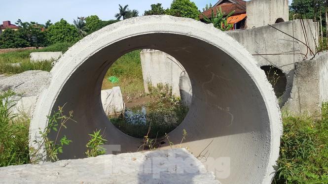 Nhìn gần con đường 'nghìn tỷ' ở trung tâm Hà Nội sau hai năm làm được vài trăm mét Ảnh 10