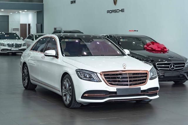 Độ cực độc, Mercedes-Benz S 450 Luxury phiên bản vàng hồng vẫn có giá bán lại rẻ hơn cả tỷ đồng dù mới chạy 12.000km Ảnh 21