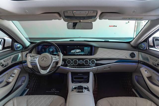 Độ cực độc, Mercedes-Benz S 450 Luxury phiên bản vàng hồng vẫn có giá bán lại rẻ hơn cả tỷ đồng dù mới chạy 12.000km Ảnh 13