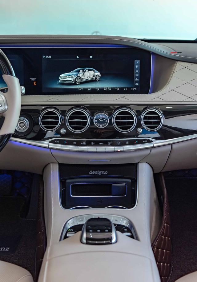 Độ cực độc, Mercedes-Benz S 450 Luxury phiên bản vàng hồng vẫn có giá bán lại rẻ hơn cả tỷ đồng dù mới chạy 12.000km Ảnh 18