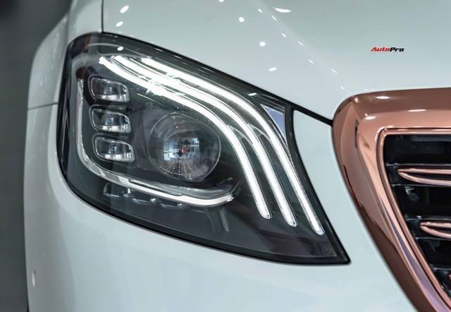 Độ cực độc, Mercedes-Benz S 450 Luxury phiên bản vàng hồng vẫn có giá bán lại rẻ hơn cả tỷ đồng dù mới chạy 12.000km Ảnh 9