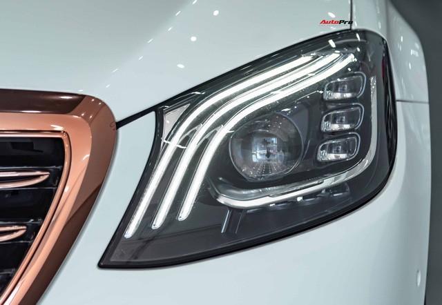 Độ cực độc, Mercedes-Benz S 450 Luxury phiên bản vàng hồng vẫn có giá bán lại rẻ hơn cả tỷ đồng dù mới chạy 12.000km Ảnh 10