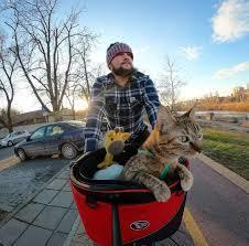 Thú vị câu chuyện chú mèo cùng anh thợ hàn đạp xe vòng quanh thế giới Ảnh 2