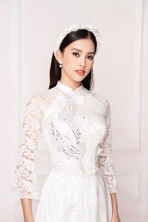 Nhan sắc Việt tỏa sáng với áo dài Ảnh 10