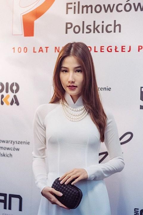 Nhan sắc Việt tỏa sáng với áo dài Ảnh 6