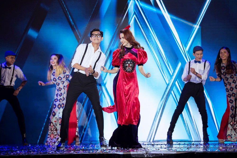 Nhan sắc Việt tỏa sáng với áo dài Ảnh 7