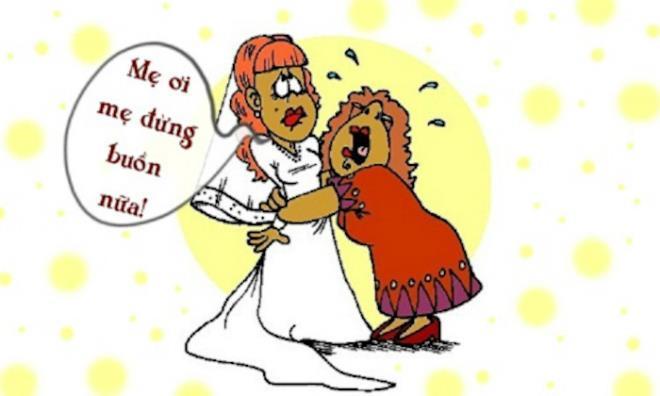Vì sao bố mẹ khóc trong đám cưới con gái? Ảnh 1