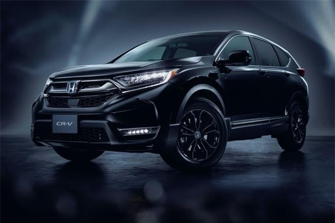 Cận cảnh Honda CR-V phiên bản đặc biệt màu đen bóng Ảnh 1
