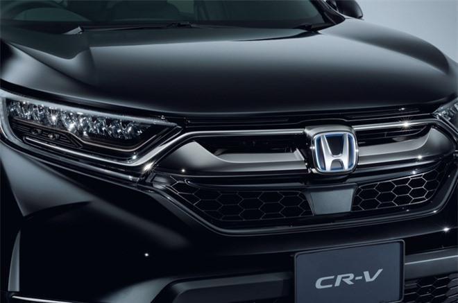 Cận cảnh Honda CR-V phiên bản đặc biệt màu đen bóng Ảnh 6