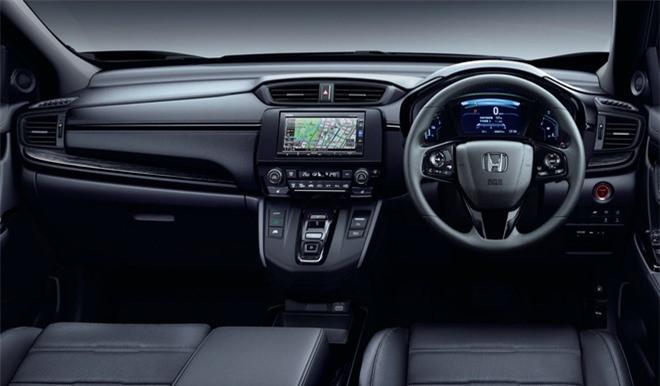 Cận cảnh Honda CR-V phiên bản đặc biệt màu đen bóng Ảnh 4