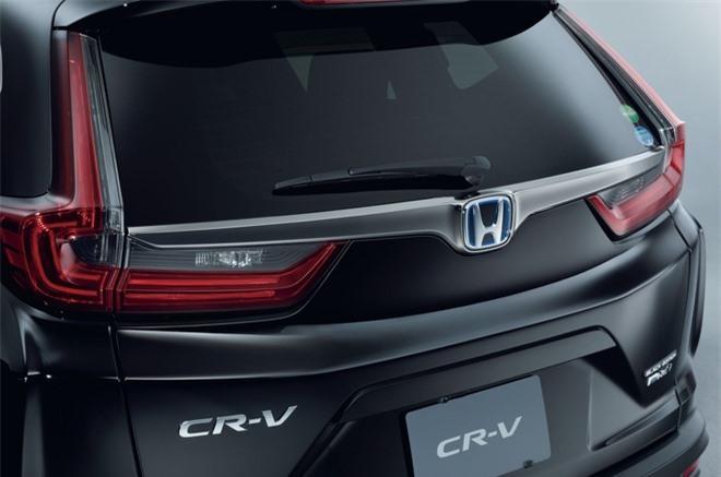 Cận cảnh Honda CR-V phiên bản đặc biệt màu đen bóng Ảnh 2