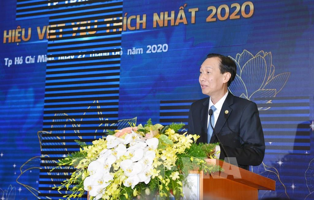 Trao giải thưởng Thương hiệu Việt được yêu thích nhất năm 2020 cho 30 doanh nghiệp Ảnh 1