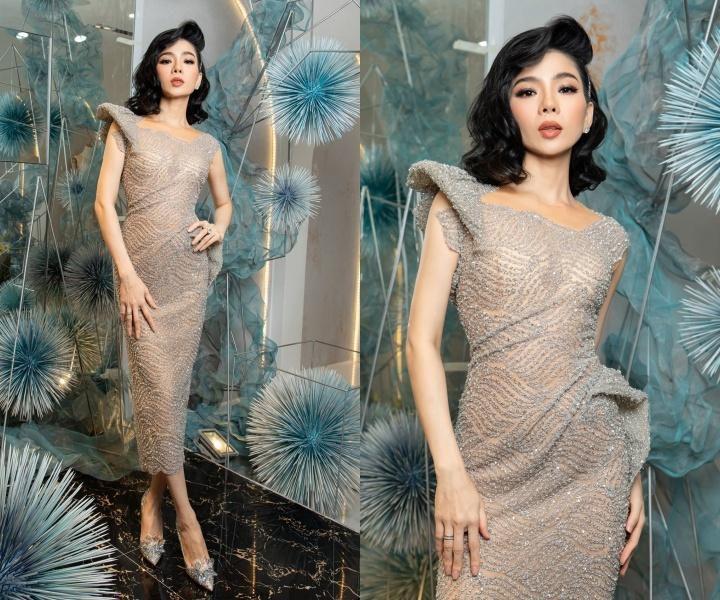 Mai Phương Thúy, Khánh Vân mặc vest thanh lịch Ảnh 3