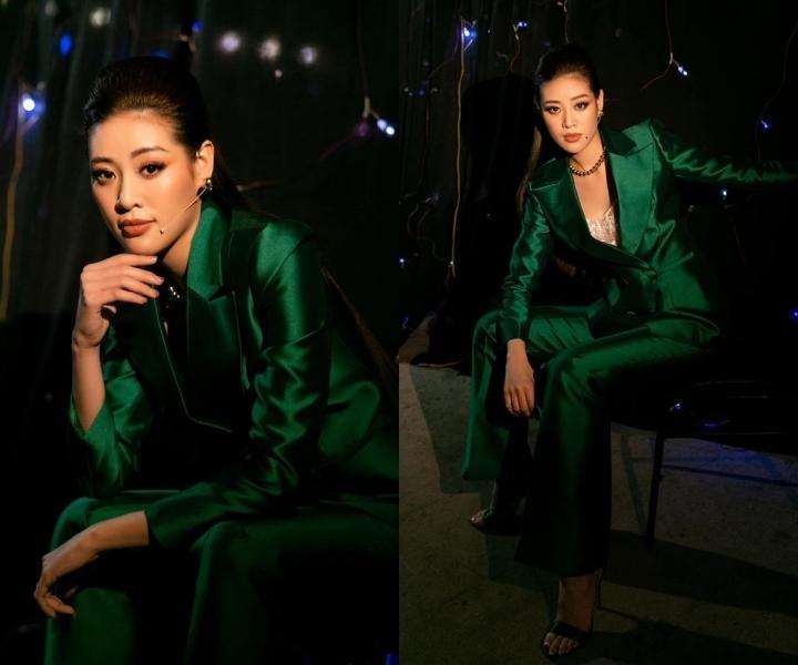 Mai Phương Thúy, Khánh Vân mặc vest thanh lịch Ảnh 2