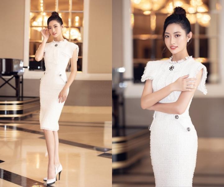 Mai Phương Thúy, Khánh Vân mặc vest thanh lịch Ảnh 6