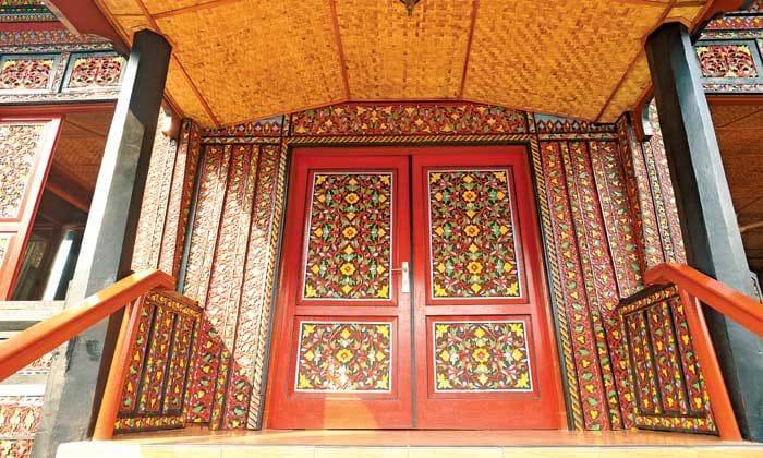 Nhà sừng trâu của người Minangkabau Ảnh 5