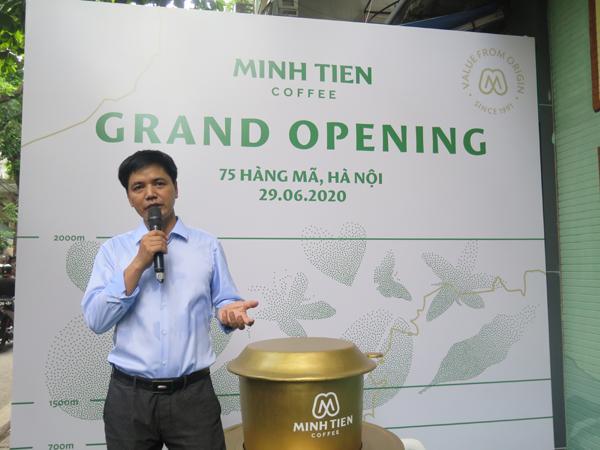 Minh Tiến Coffee - Hành trình quảng bá nâng tầm cà phê Việt Ảnh 1