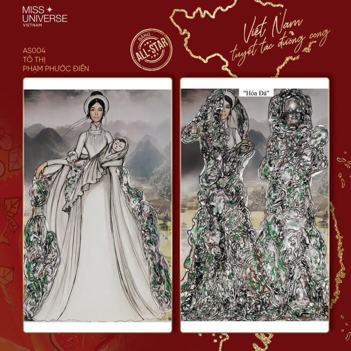 Độc đáo thiết kế trang phục dân tộc cho Khánh Vân thi 'Hoa hậu Hoàn vũ 2020' Ảnh 2