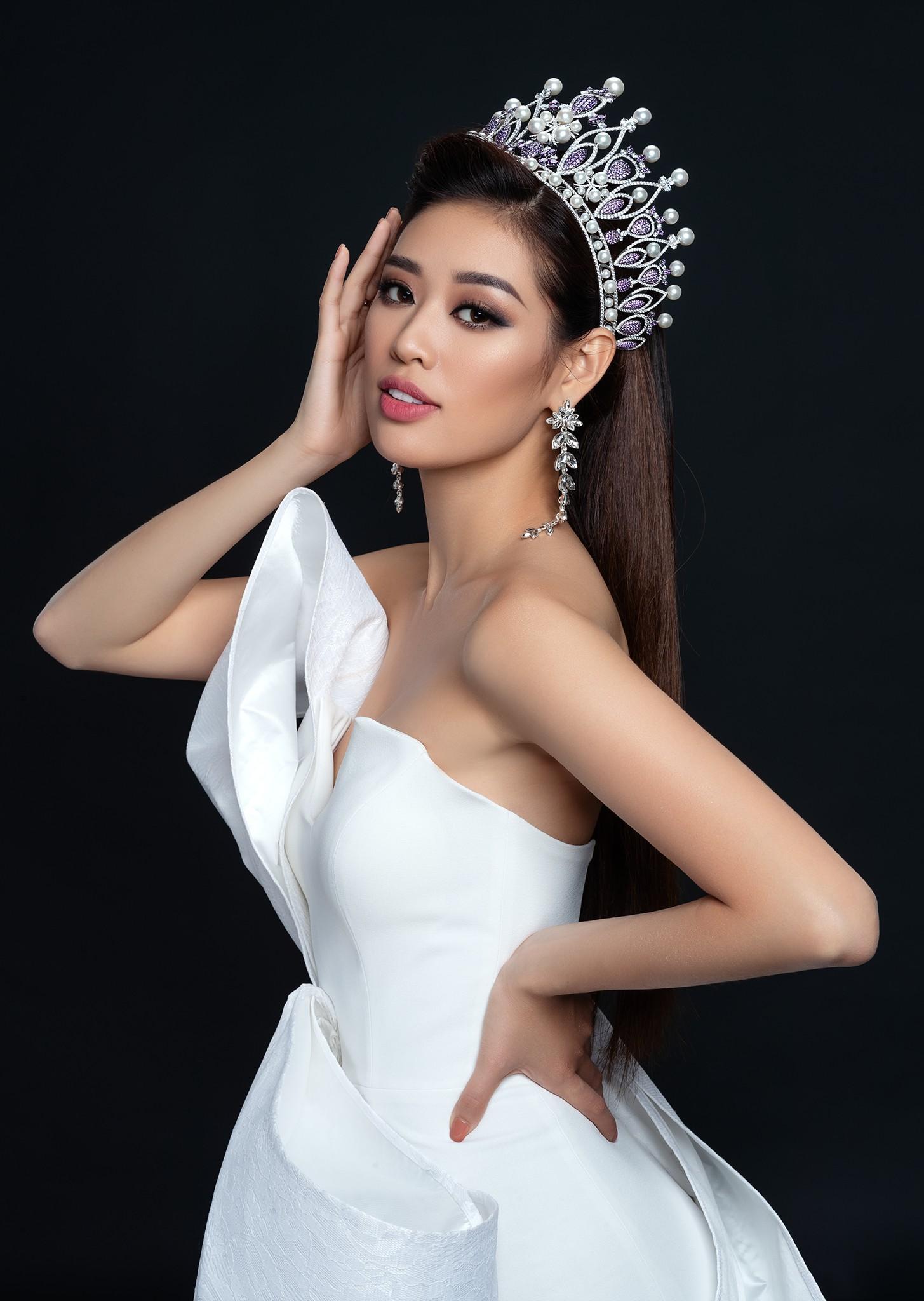 Độc đáo thiết kế trang phục dân tộc cho Khánh Vân thi 'Hoa hậu Hoàn vũ 2020' Ảnh 1
