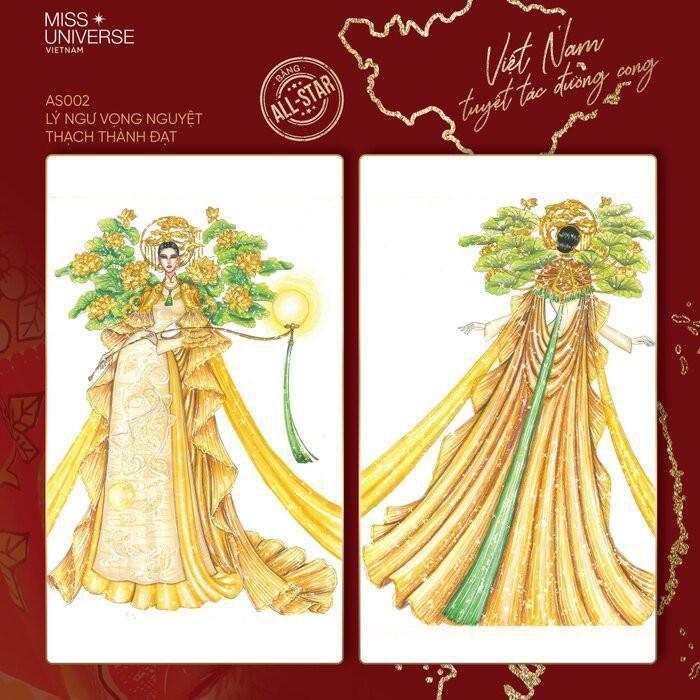 Độc đáo thiết kế trang phục dân tộc cho Khánh Vân thi 'Hoa hậu Hoàn vũ 2020' Ảnh 5