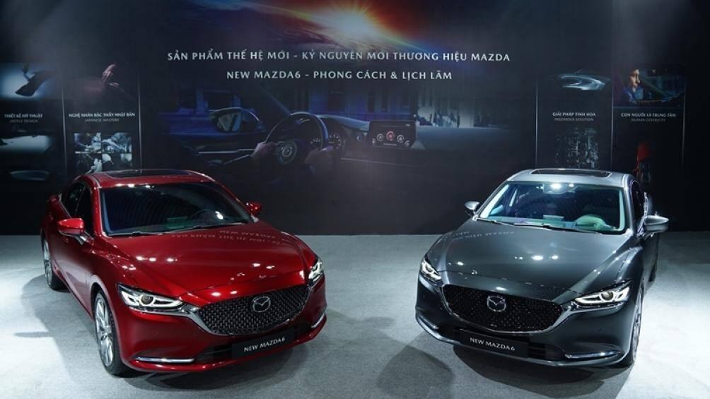 New Mazda6 bản cao cấp nhất có giá 1,049 tỷ đồng Ảnh 1