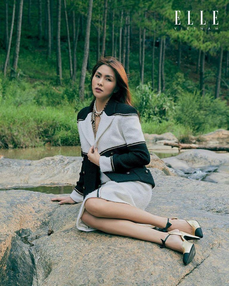 Tăng Thanh Hà khoe thần thái đỉnh cao, xứng danh 'ngọc nữ' trong bộ ảnh chụp tại Đà Lạt Ảnh 6