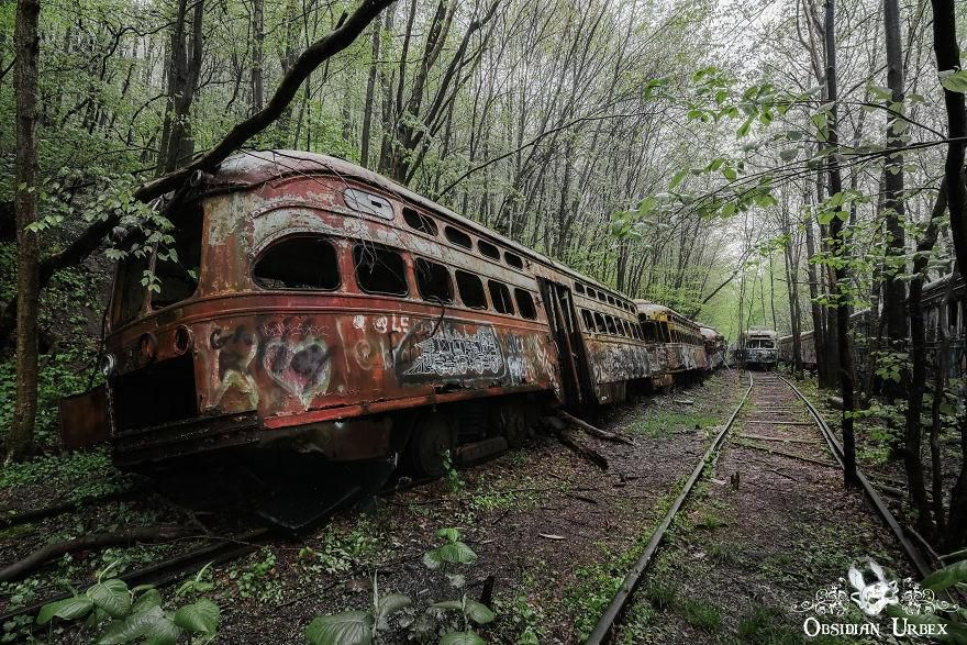 Ám ảnh những địa điểm bị bỏ hoang ở Pennsylvania Ảnh 2