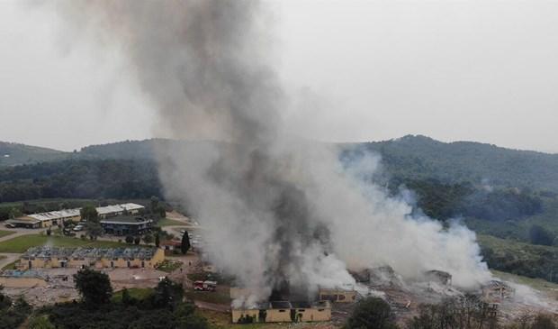 Ít nhất 50 người bị thương trong vụ nổ nhà máy pháo hoa ở Thổ Nhĩ Kỳ Ảnh 1