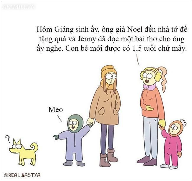 Cười 'té ghế' với bộ tranh hài hước miêu tả nghề làm mẹ thật đến từng centimet Ảnh 14