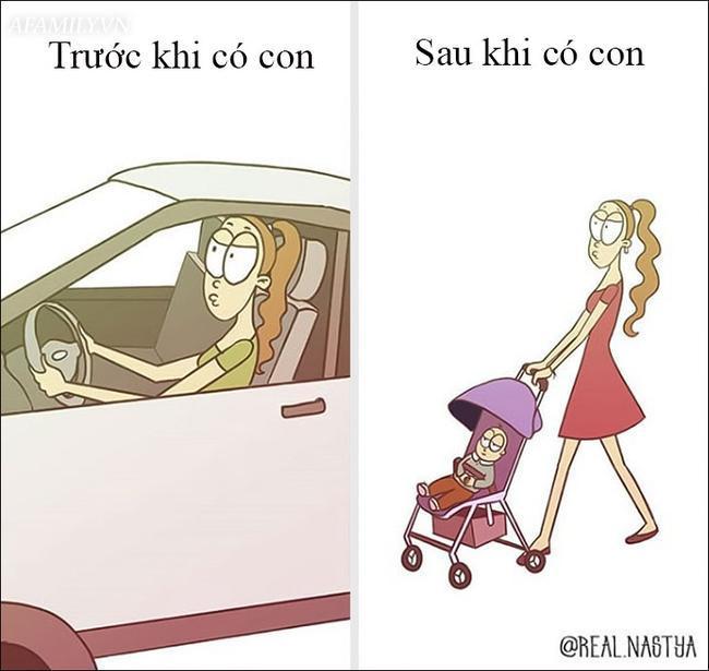 Cười 'té ghế' với bộ tranh hài hước miêu tả nghề làm mẹ thật đến từng centimet Ảnh 12