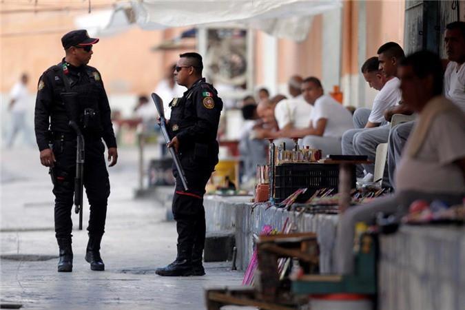 Bàn thờ tử thần trong nhà tù nguy hiểm bậc nhất Mexico Ảnh 7