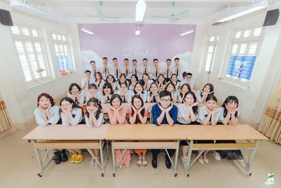 'Mở rộng tầm mắt' với bộ ảnh kỷ yếu 'chẳng giống ai' nhưng lại siêu tiết kiệm của học sinh Quảng Ninh Ảnh 1