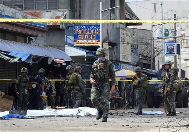Xả súng gần một doanh trại quân đội ở miền Nam Philippines Ảnh 1
