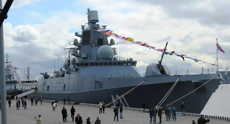 Hải quân Nga sắp có tàu khu trục mới Ảnh 1