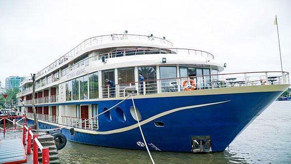 Khám phá du thuyền 4 sao Victoria Mekong Ảnh 1