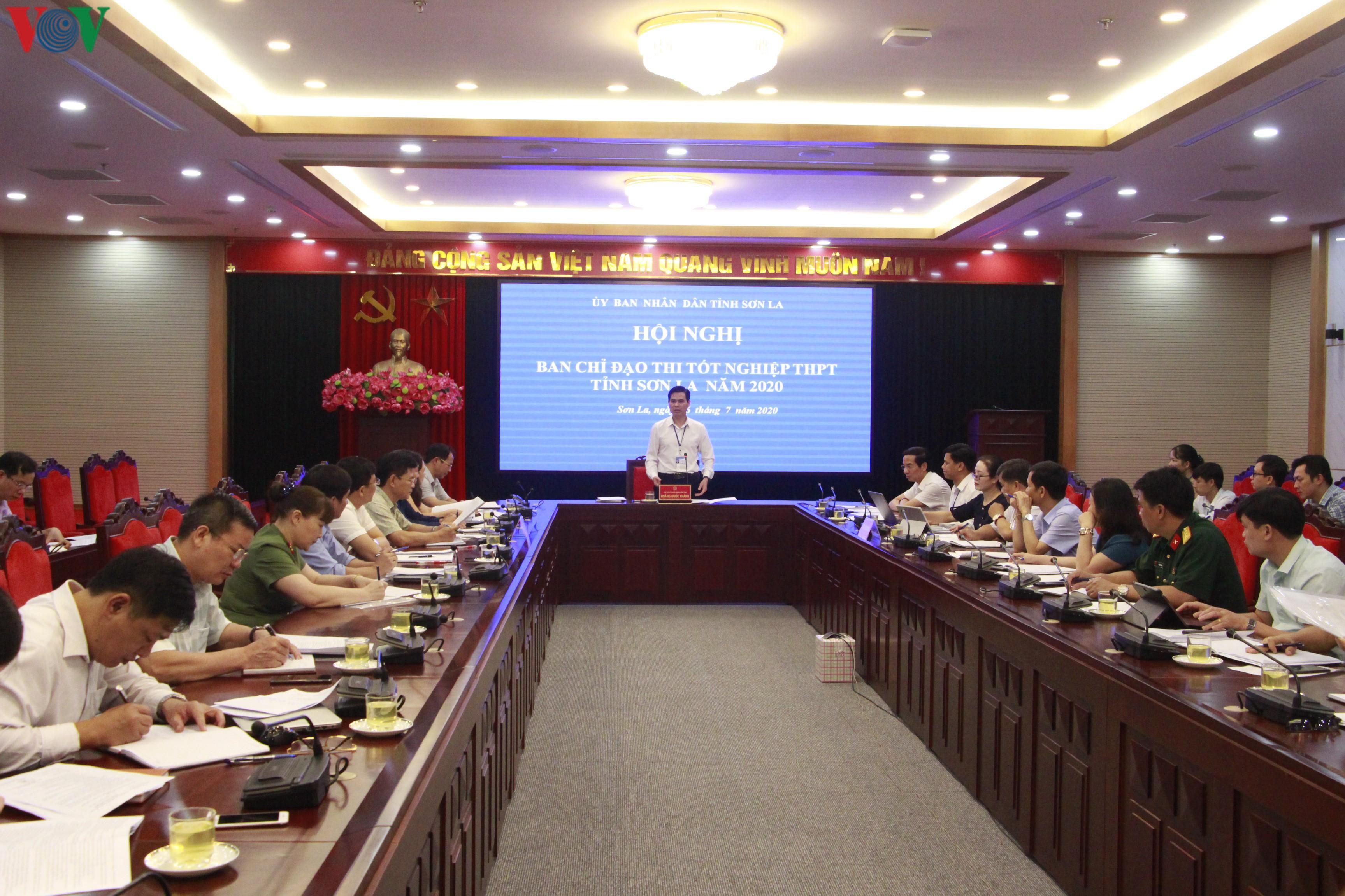 Sơn La sẽ thành lập 12 đoàn kiểm tra trong kỳ thi tốt nghiệp THPT 2020 Ảnh 1
