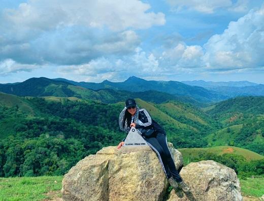 Hoa hậu Hằng Nguyễn chinh phục Tà Năng - Phan Dũng, cung đường trekking đẹp nhất Việt Nam Ảnh 5