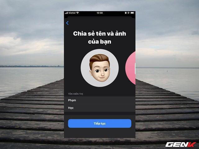 Hướng dẫn tạo ảnh đại diện 3D khi sử dụng iMessage trên iOS 13 Ảnh 4