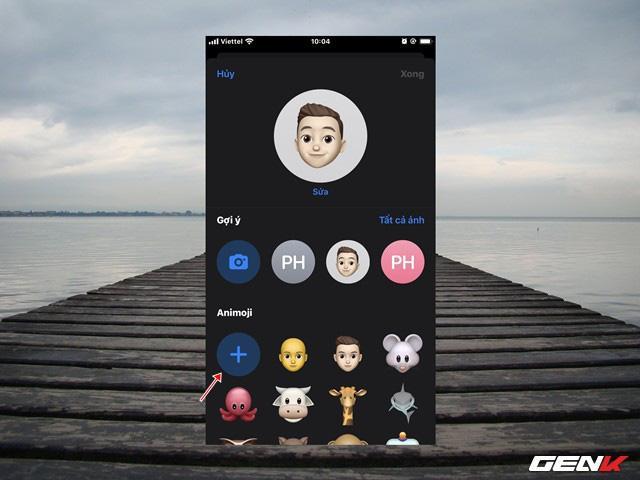 Hướng dẫn tạo ảnh đại diện 3D khi sử dụng iMessage trên iOS 13 Ảnh 3