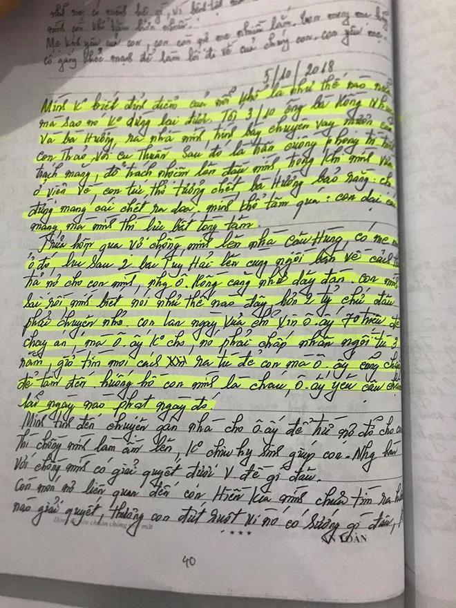 Vụ anh trai truy sát cả nhà em gái ở Thái Nguyên: 'Trong nhật ký, mẹ tôi nhắc tới nỗi sợ cuộc thảm sát có thể xảy ra' Ảnh 2