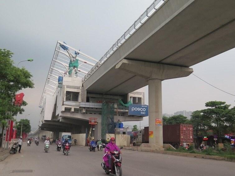Hà Nội đầu tư nối dài tuyến đường sắt đô thị Nhổn - ga Hà Nội Ảnh 1