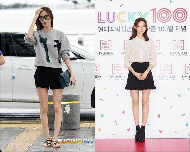 Không chỉ Yoona, đến lượt Rosé cũng có siêu năng lực biến chân vòng kiềng thành chân thẳng Ảnh 1