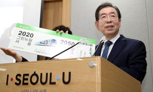 Thị trưởng Seoul: Từ ứng viên Tổng thống tiềm năng tới bê bối tình dục Ảnh 1